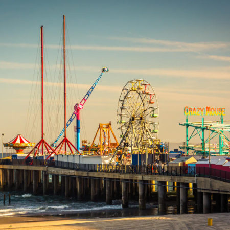 Atlantic City Playground Pier Sold to Caesars, Amidst Fears of a Casino Showboat