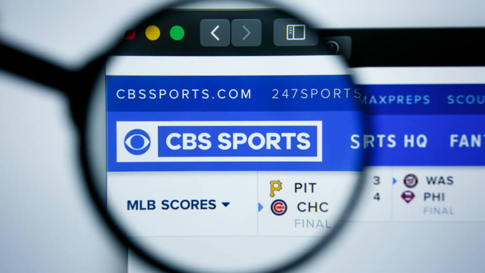CBS Sports Partners With William Hill
