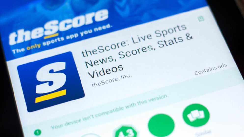 TheScore, Provider Of Sports Betting App In NJ, Raised $25 Million In Share Sale