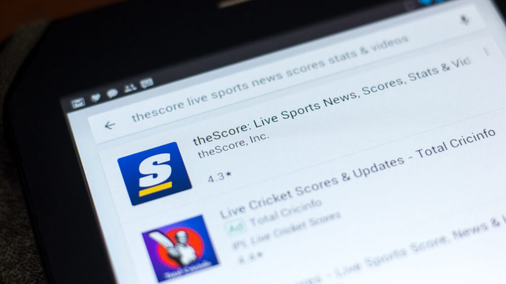 TheScore Adds New Features to its New Jersey Sports Betting App